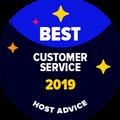 Odznak Nejlepší Zákaznická Podpora je udělen společnostem, jejichž e-mailová a telefonická podpora byla anonymně prověřena našimi redaktory a prokázala se být vynikající.