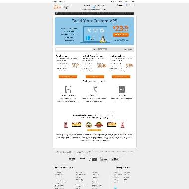 MyHosting.com HomePage Screenshot